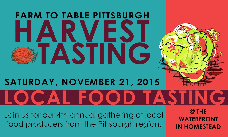 Local Food Tasting November 21