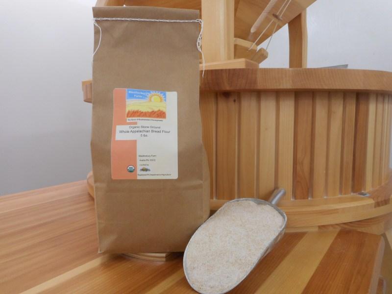 Certified Organic Flours; Grass Fed Beef