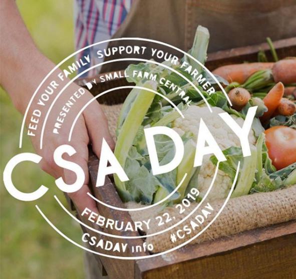 CSA Day!