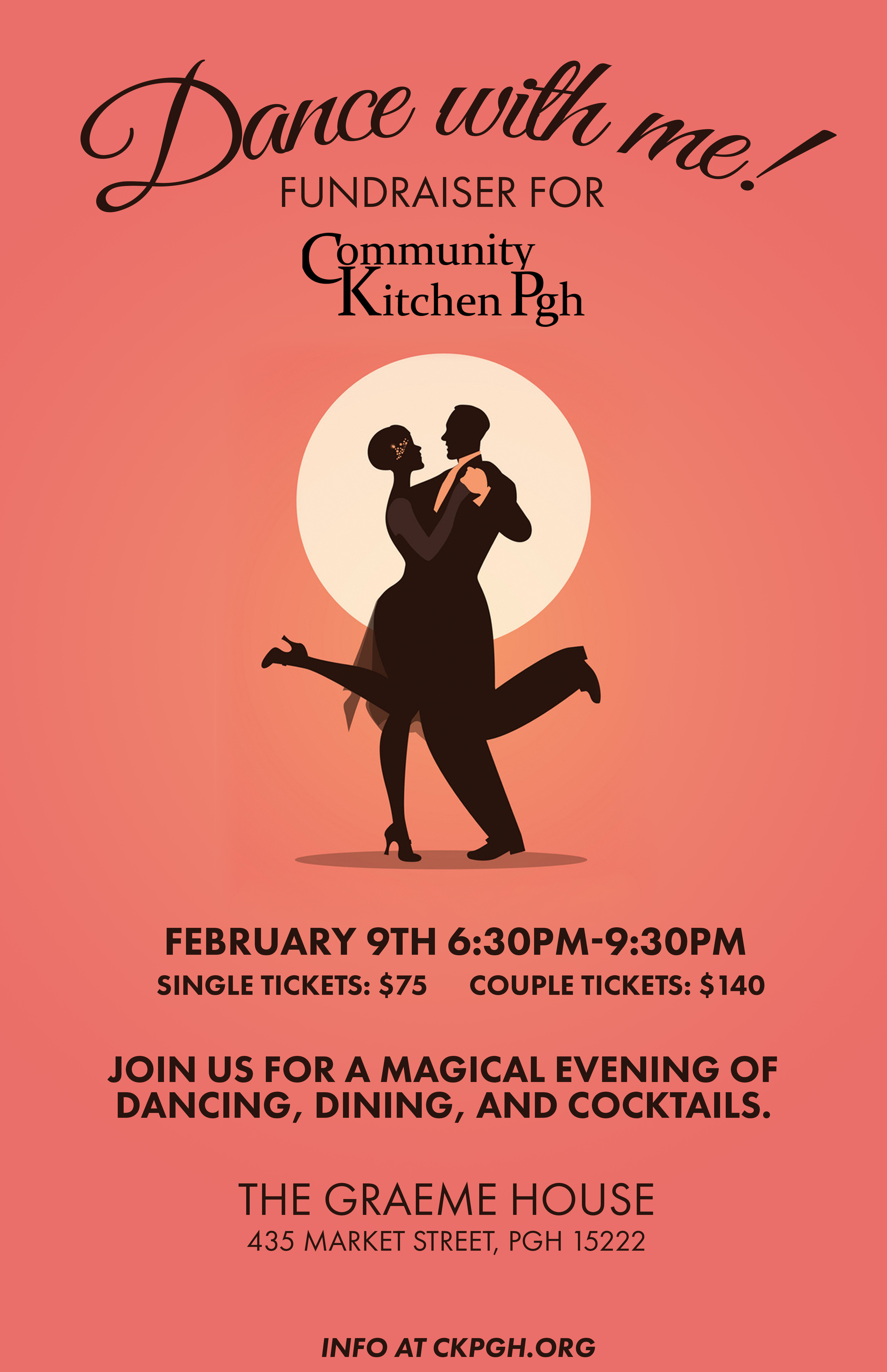 Dance and Dine with Community Kitchen Pittsburgh!