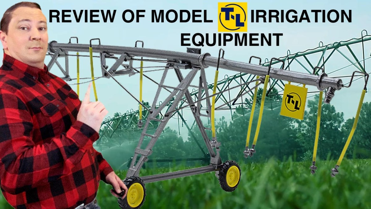 FIRST GEAR 64th SCALE DIECAST T-L Center Pivot Irrigation Systems Product Review