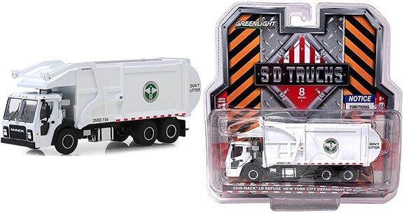 "2019 Mack LR Refuse Truck ""New York City Department of Sanitation"""