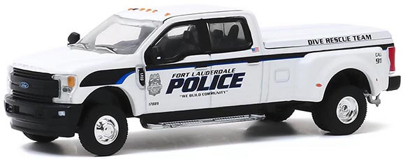 """2019 Ford F-350 Dually Pickup """"Fort Lauderdale, Florida Police Department Dive Rescue Team"""""""