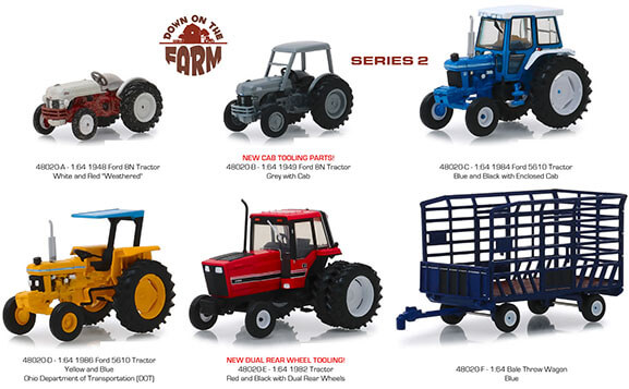Down on the Farm Series 2 Set of 6
