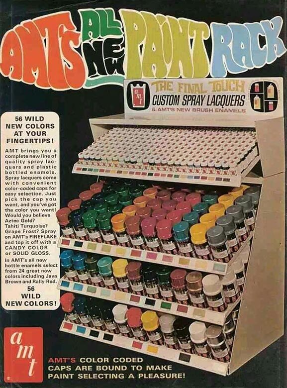 AMTs All New Paint Rack
