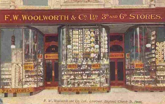 F.W. Woolworth & Co. Ltd. Dime Stores