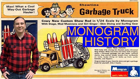 Monogram Models History, The Kits, Tom Daniel, The Owners, Aurora, & The Merger – Revell-Monogram