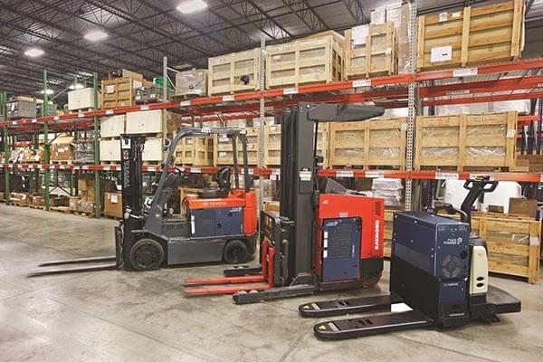 Plug Power GenDrive Fuel Cell Forklifts & Pallet Jacks