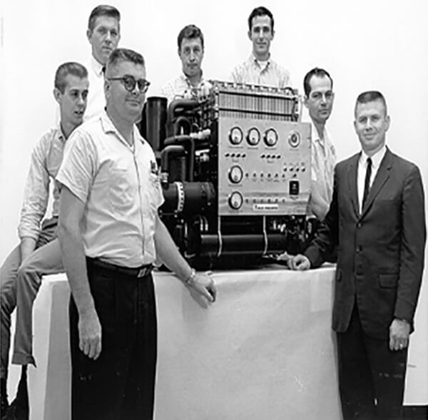 The Team of Researchers at Allis-Chalmers & Their 5kVA Fuel Cell
