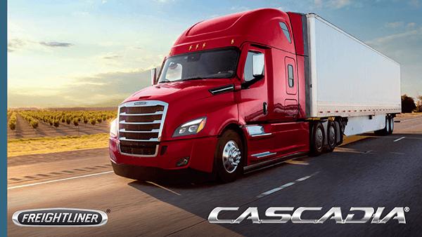 2020 Freightliner Cascadia Brochure Cover