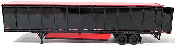 Wabash 53' Duraplate Dry Van Trailer (Black/Red)