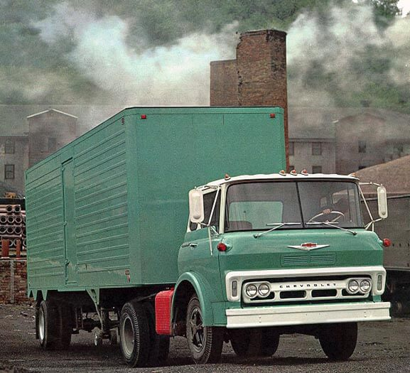 The Real Chevy Steel Tilt Cab - Chevy Brochure