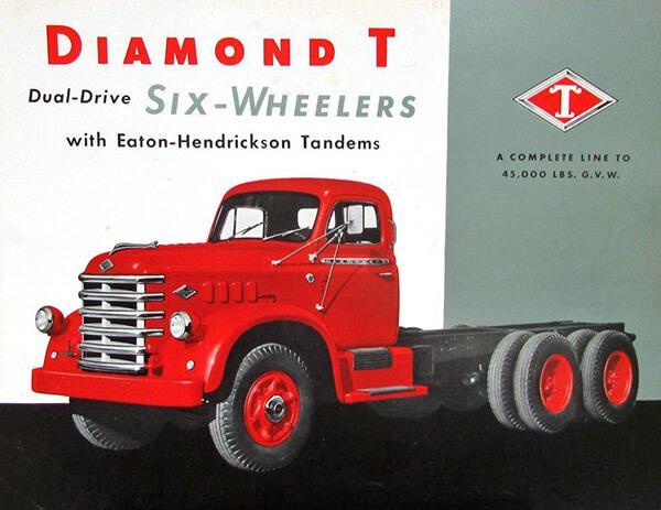 Diamond T Dual Drive Brochure