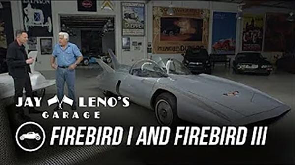 Jay Leno's Garage Firebird I & Firebird II