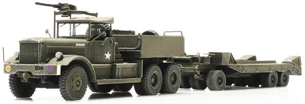 US Army M19 Diamond T with Rogers Tank Retriever Trailer