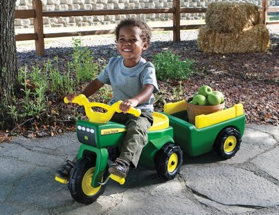 pedal tractor john deere tractor toy