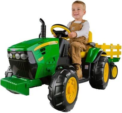 Perego John deere toy tractor