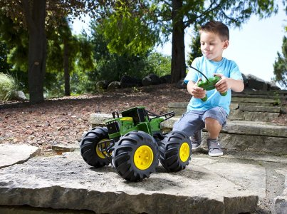 monster tread john deere toy tractor