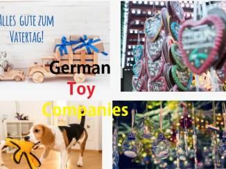 German Toy Companies