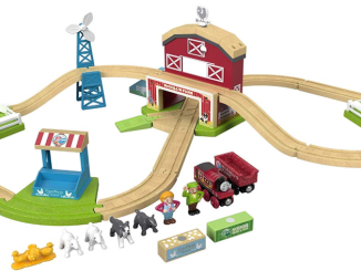 Wooden Farm Sets for Toddlers