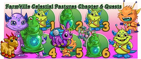 Farmville Celestial Pasturec Chapter 6 Quest