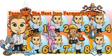 FarmVille The Next Iron Farmer Quests