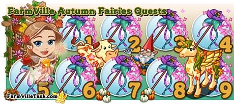 FarmVille Autumn Fairies Quest