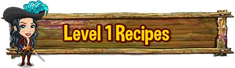 Tinkers Cabin Level 1 Recipe