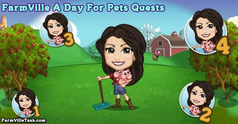 FarmVille A Day For Pets Quests