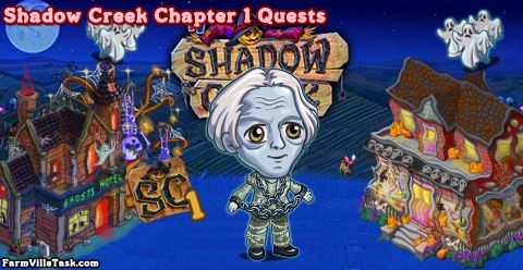 Shadow Creek Chapter 1 Quests