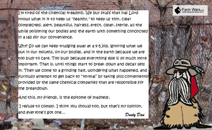 Dusty Dan Chemical Treadmill