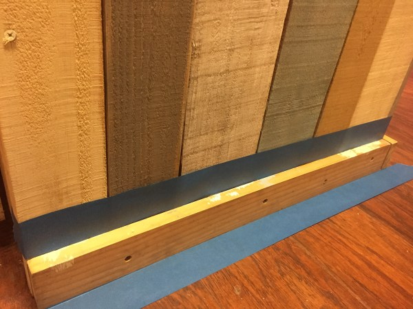 kitchen island trim board