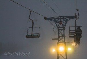 Visibility remained elusive, even worsening as the morning progressed - 10:42 a.m.