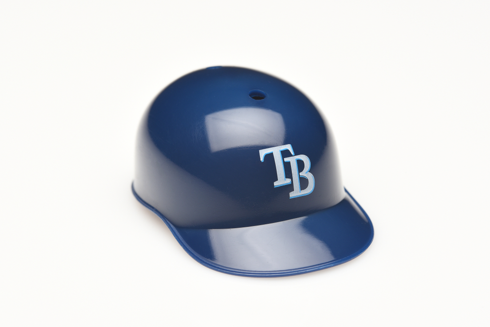 Mini collectable Rays helmet