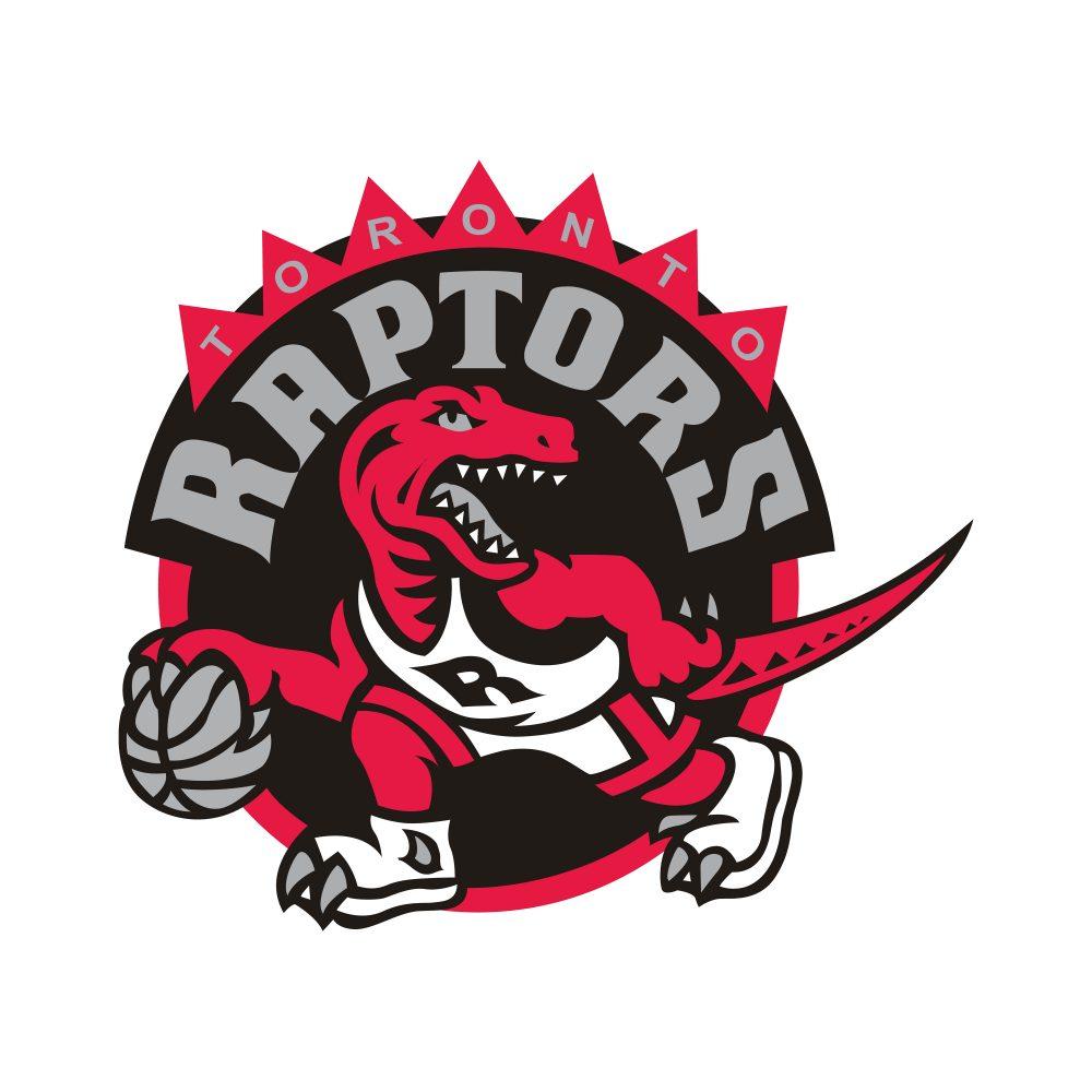 Toronto Raptors logo design illustration