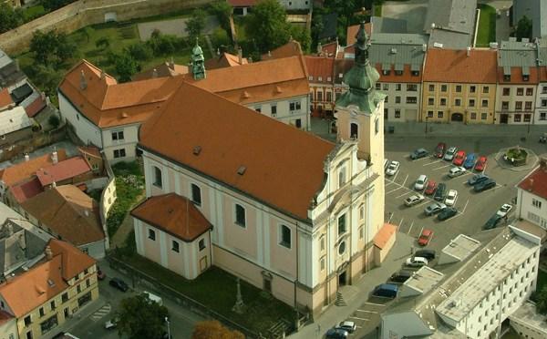 kostel P.Marie