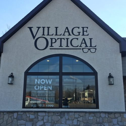 Village Optical Outdoor/Exterior Dimensional Letters