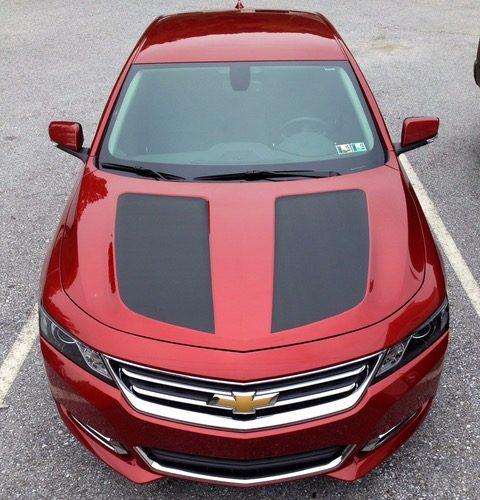 Chevy Malibu Hood Carbon Fiber Wraps Vehicle Graphics