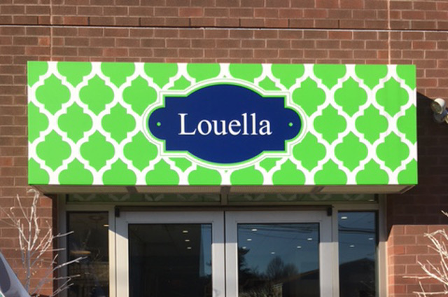 Louella Custom Exterior and Branded Shell Awning