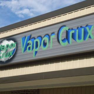 Vapor Crux Thorndale Exterior Digitally Printed Lightbox