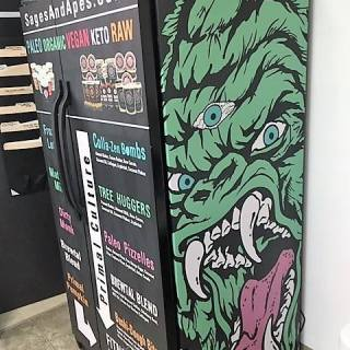 Sages and Apes Digitally Printed Fridge Wrap