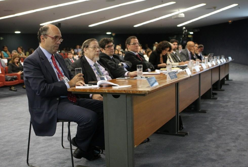 Expositores da audiência pública sobre direitos autorais - Fotos Fellipe Sampaio/SCO/STF