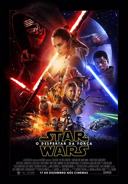 Cartaz oficial do novo Star Wars - Fotos: Divulgação