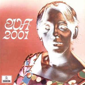 """Capa de """"Eva 2001"""" (1969), de Evinha"""