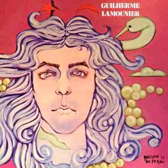 "Capa de ""Guilherme Lamounier"" (1973)"