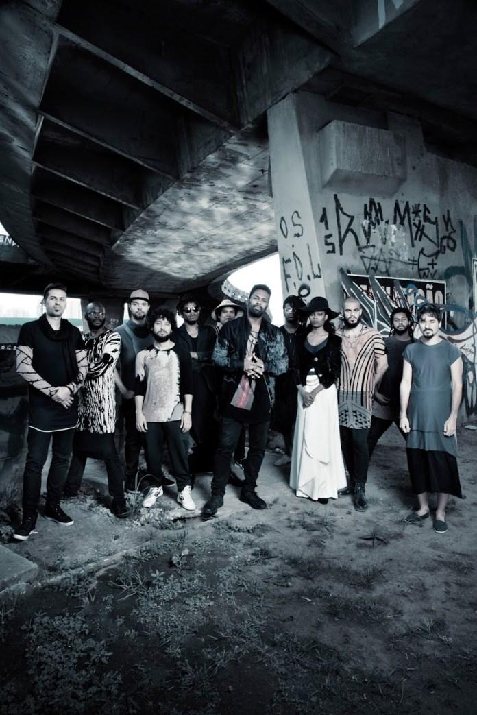 A black big band Aláfia - foto Edu Pimenta/divulgação