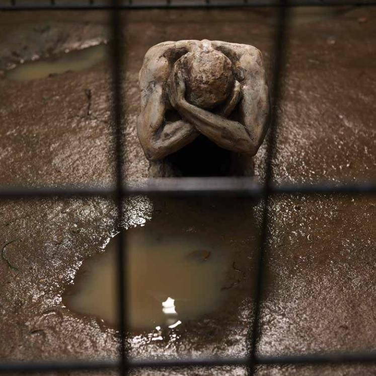 Exposição Escravidão Contemporânea, de Aline Matheus