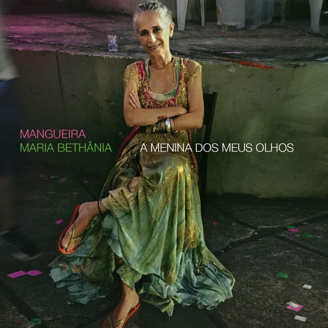 Capa do disco Mangueira - A Menina dos Meus Olhos, de Maria Bethânia