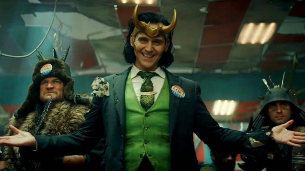 Cena de Loki, série do Universo Marvel na Disney+