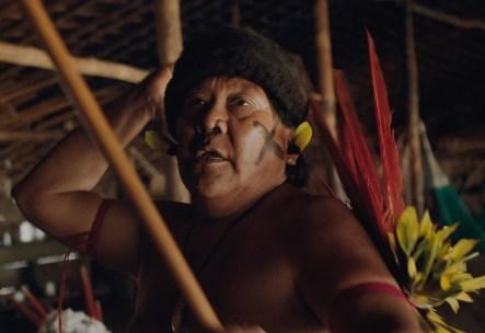Davi Kopenawa Yanomami, que protagoniza 'A Última Floresta'